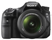 Sony Alpha A58 + 18-55 mm II + 50mm!