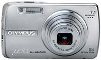 Olympus Mju 750 stříbrný