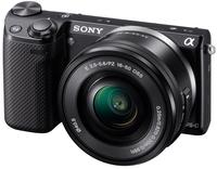 Sony NEX-5T + 16-50 mm černý + 16GB Ultra + brašna + čistící utěrka!