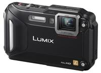 Panasonic Lumix DMC-FT5 černý + 16GB Ultra karta + originální pouzdro + čistící utěrka!