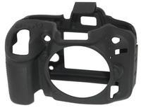 EasyCover silikonové pouzdro pro Nikon D7100, D7200 černé