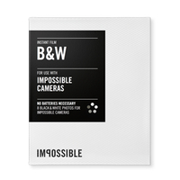 Impossible film B/W pro Impossible Cameras