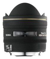 Sigma 10mm f/2,8 EX DC Fisheye HSM pro Canon