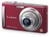 Panasonic Lumix DMC-FS5 červený