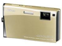 Nikon Coolpix S60 zlatý