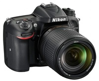 Nikon D7200 + 18-140 mm VR