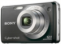 Sony CyberShot DSC-W210 černý