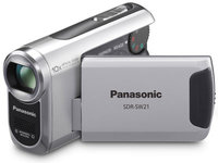 Panasonic SDR-SW21 stříbrná + 8GB karta zdarma!