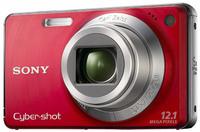 Sony CyberShot DSC-W270 červený