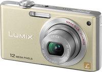 Panasonic Lumix DMC-FX40 zlatý