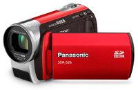 Panasonic SDR-S26 červená + SD 4 GB + brašna DF30 zdarma!
