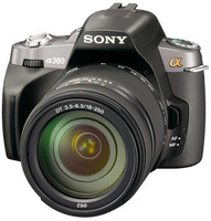 Sony Alpha A380 + 18-55 mm + GPS modul