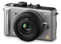 Panasonic Lumix DMC-GF1 stříbrný + G Vario 14-45 mm