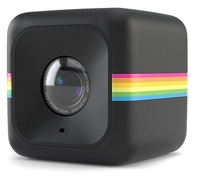Polaroid Cube+ černý sada pro auto nebo motorku!