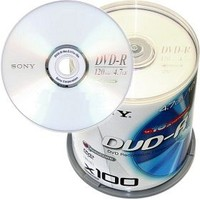 Sony DVD-R 4,7GB 100ks
