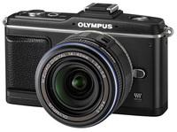 Olympus E-P2 černý + 14-42 mm Kit + hledáček VF-2