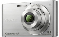 Sony CyberShot DSC-W320 stříbrný + fotbalový dres + mini míč zdarma!