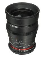 Samyang 35mm T/1,5 VDSLR pro Sony E