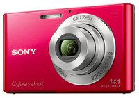 Sony CyberShot DSC-W330 červený