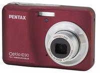 Pentax Optio E90 červený