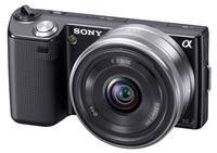 Sony NEX-5 černý + 18-55 mm + 16 mm půjčovna