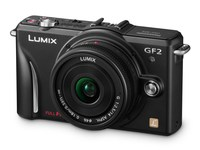 Panasonic Lumix DMC-GF2 černý + 14 mm