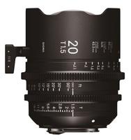 Sigma CINE 20mm T/1,5 pro Canon