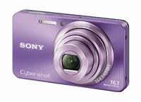 Sony CyberShot DSC-W570 fialový