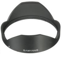 Samyang sluneční clona pro 8mm f/2,8 a T/3,1 černá
