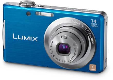 Panasonic Lumix DMC-FS16 modrý