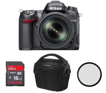 Nikon D7000 + 16-85 mm VR + 16GB Ultra + brašna 2GO22 + B+W UV filtr!