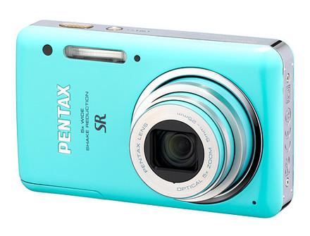 Pentax Optio S1 zelený