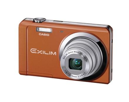 Casio EXILIM ZS5 oranžový