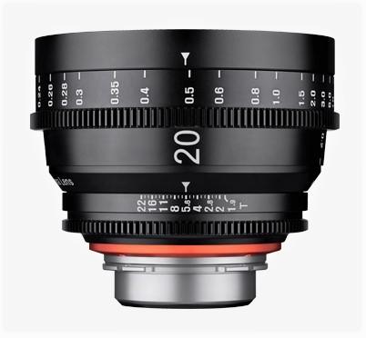 Samyang XEEN CINE 20mm T/1,9 pro Sony E