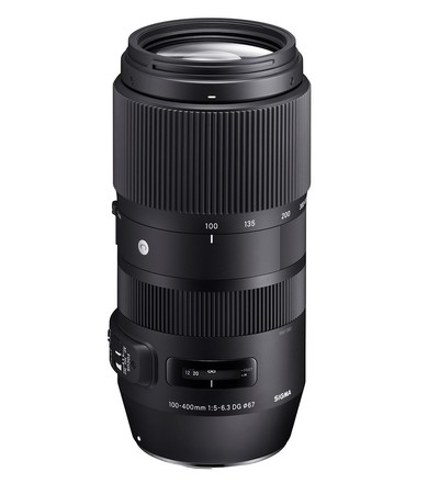 Sigma 100-400mm f/5-6,3 DG OS HSM Contemporary pro Canon
