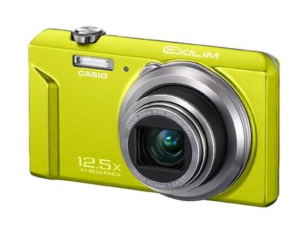 Casio EXILIM ZS150 zelený