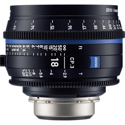 Zeiss Compact Prime CP.3 T* 18mm f/2,9 pro Canon