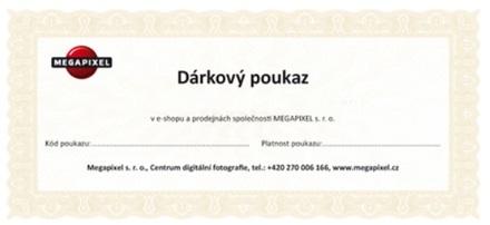 Slevový poukaz profil Profesionál v Galerii Megapixel