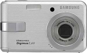 Samsung Digimax L60 stříbrný