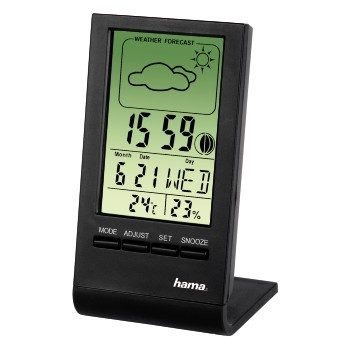 Hama LCD teploměr/ vlhkoměr TH100