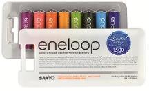 Sanyo Eneloop AA baterie 2000 mAh 8ks