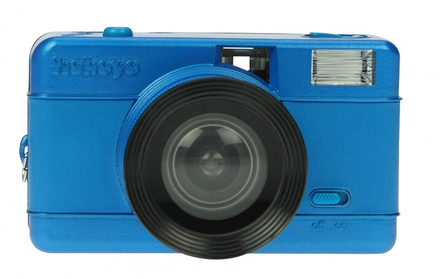 Lomography Fisheye Compact Camera Blue