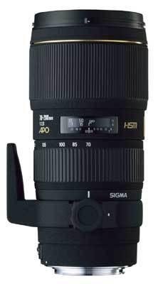 Sigma 70-200 mm F 2,8 EX DG MACRO HSM pro Nikon