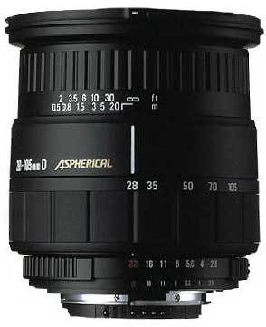 Sigma 28-105 /2,8-4,0 ASPHERICAL
