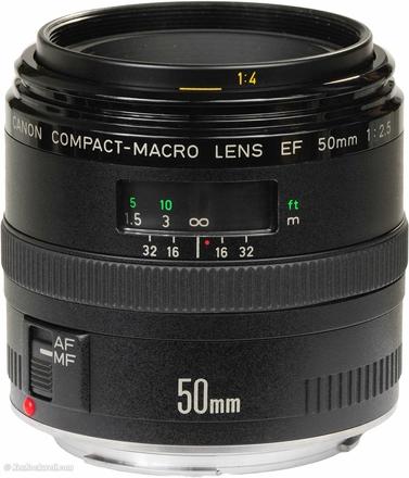 Canon EF 50mm f/2,5 Compact-macro