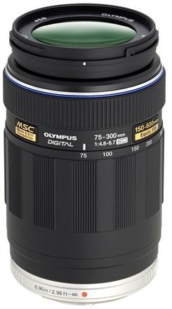 Olympus M.ZUIKO 75-300mm F 4,8-6,7 Digital ED černý