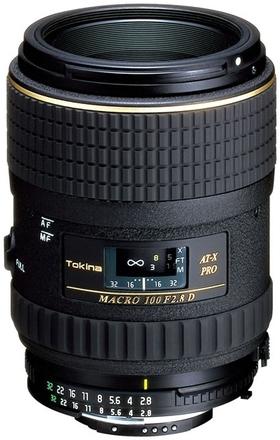 Tokina AT-X 100mm f/2,8 AF PRO D pro Nikon
