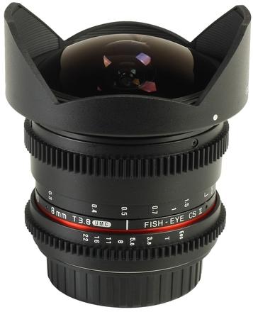 Samyang 8mm T/3,8 VDSLR CSII pro Canon