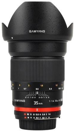 Samyang 35mm f/1,4 pro Fuji X