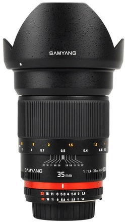 Samyang 35mm f/1,4 pro Canon